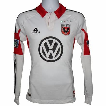2012-2013 DC United Away Football Shirt Adidas L/S Small (Excellent Condition)